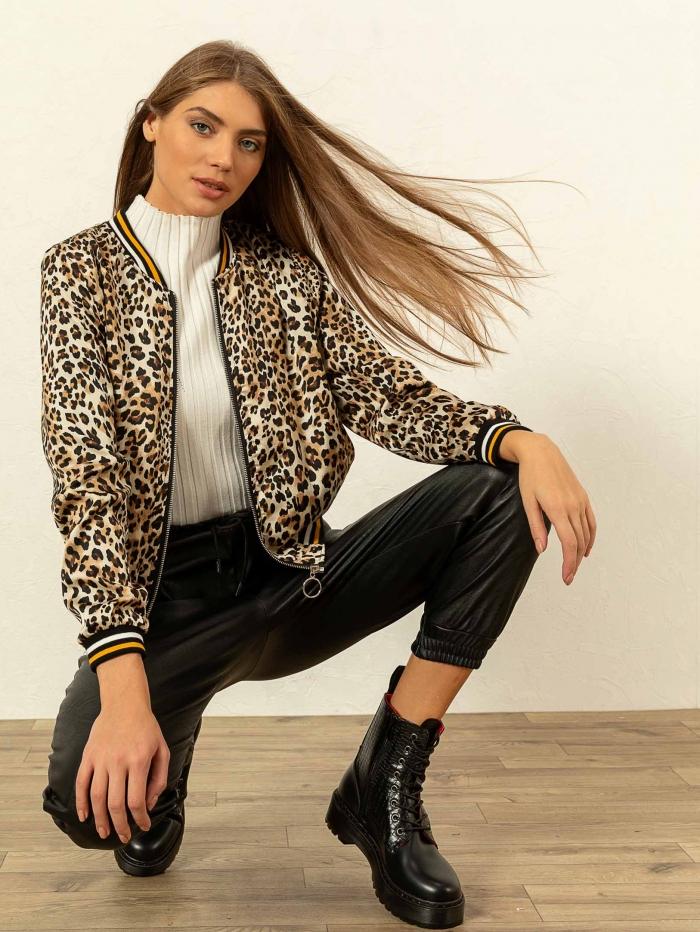 Leopard τζάκετ